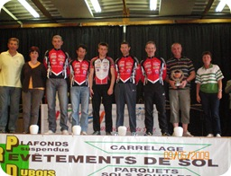 boucles tourangelles 2009 - trophée fair play équipe