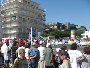 Tri CD La Baule 2009 - Vélo et public