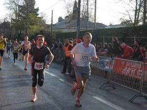 10 km St Grégoire - Arrivée