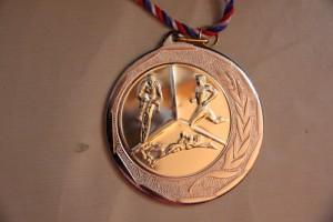 La médaille du Finisher