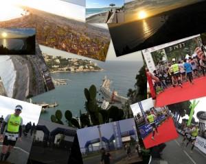 Montage Photo du Marathon Nice Cannes 2001