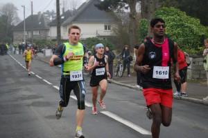 Photo arrivee 10km saint gregoire 2011