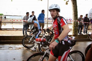 Ironman Barcelona 2014 - Départ Vélo