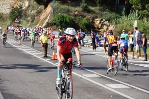 Ironman Barcelona 2014 - fin 1er tour Vélo
